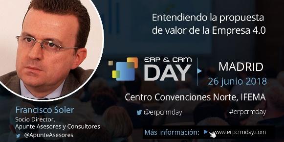 Jornada Finanzas ERP & CRM DAY, Madrid, Junio 2018